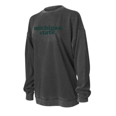 Michigan State Chicka-D Women's Campus Crew Sweatshirt