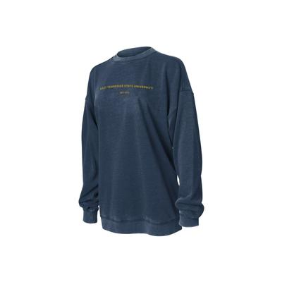 ETSU Chicka-D Women's Campus Crew Sweatshirt