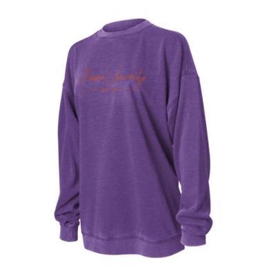 Clemson Chicka-D Women's Campus Crew Sweatshirt