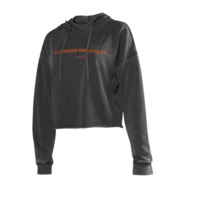 Clemson Chicka-D Women's Campus Cropped Hoodie