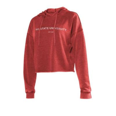 NC State Chicka-D Women's Campus Cropped Hoodie