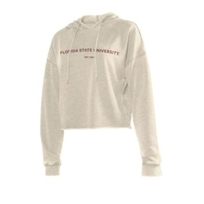 Florida State Chicka-D Women's Campus Cropped Hoodie