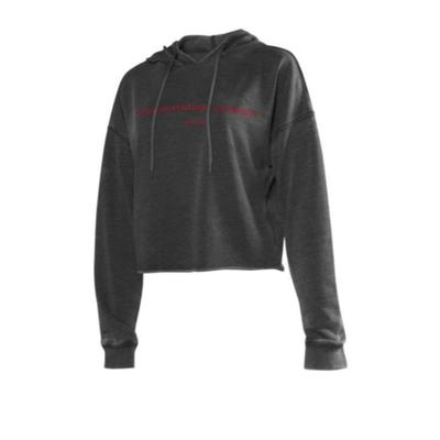 Western Kentucky Chicka-D Women's Campus Cropped Hoodie