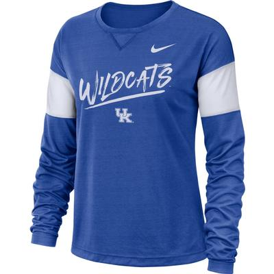 Kentucky Nike Women's Dri-FIT Breathe Long Sleeve Top