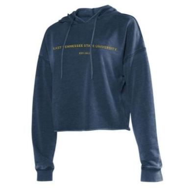 ETSU Chicka-D Women's Campus Cropped Hoodie