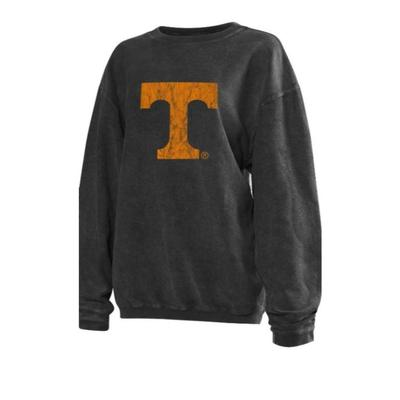 Tennessee Chicka-D Women's Distressed Power T Corded Sweatshirt