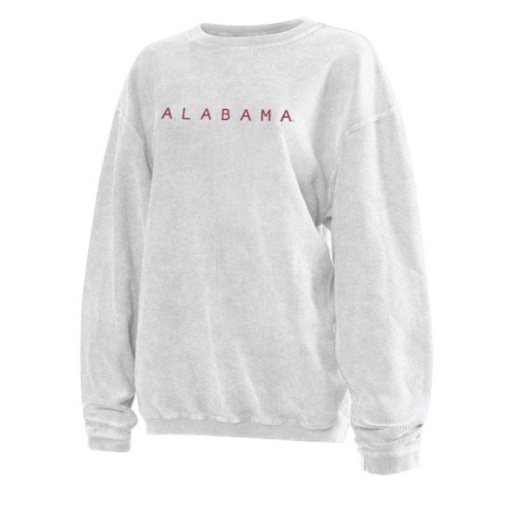Alabama Chicka- D Women's Embroidered Corded Sweatshirt