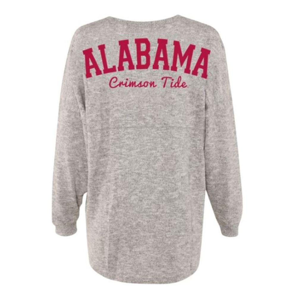 Alabama Chicka- D Women's Cozy Varsity Jersey