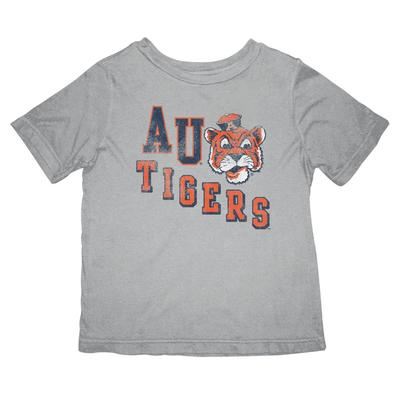 Auburn Retro Brand Toddler Vault Diagonal Tigers Tee Shirt