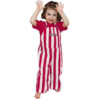 Alabama Gamebibs Toddler Striped Overalls