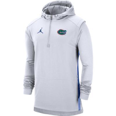Florida Jordan Brand Pregame Coaches 1/2 Zip Pullover