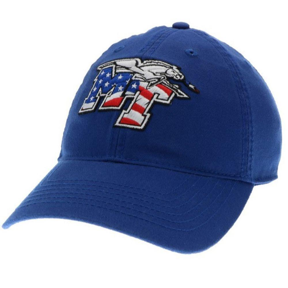 Mtsu Legacy Mt Americana Twill Adjustable Hat