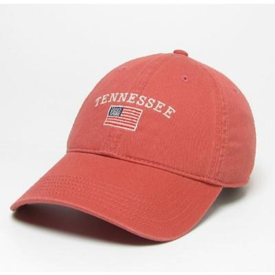 Tennessee Legacy American Flag Twill Crew Hat