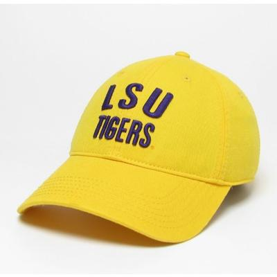 LSU Legacy Tigers Relaxed Twill Adjustable Hat
