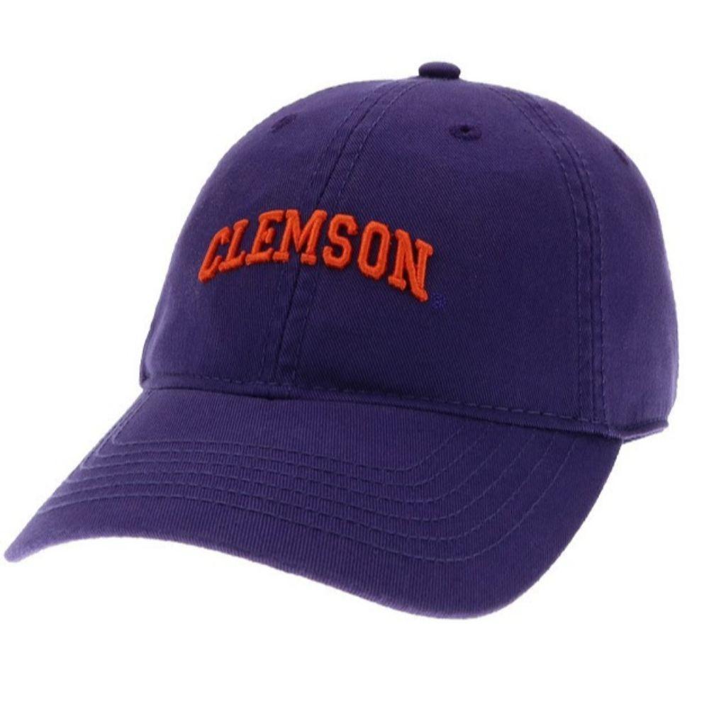 Clemson Legacy Women's Mini Arch Twill Adjustable Hat