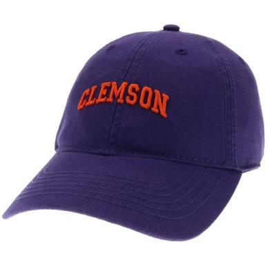 Clemson Legacy Women's Mini Arch Twill Adjustable Hat