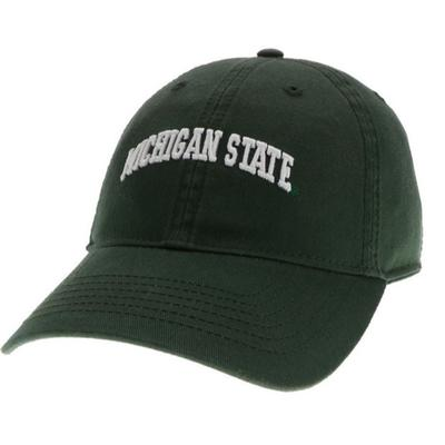 Michigan State Legacy Women's Mini Arch Relaxed Twill Adjustable Hat
