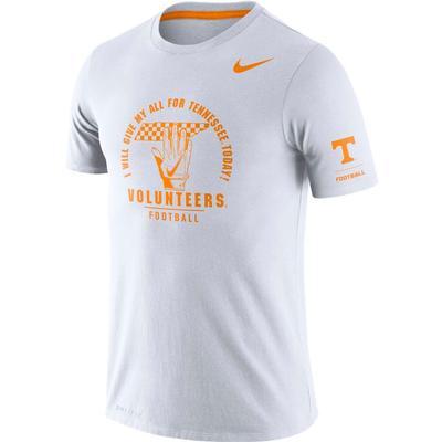 Tennessee Nike Dri-Blend Rivalry Crew Tee