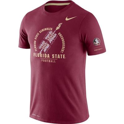 Florida State Nike Dri-Blend Rivalry Crew Tee