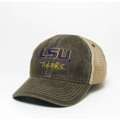 LSU Legacy Toddler Tigers Adjustable Trucker Hat