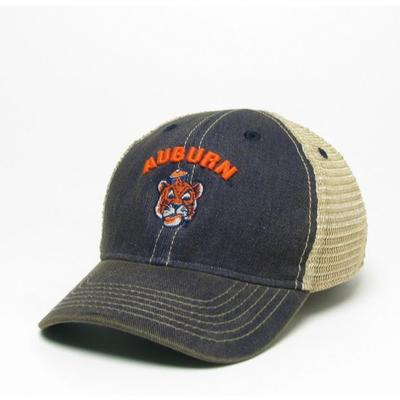 Auburn Legacy Toddler Cartoon Tiger Adjustable Trucker Hat