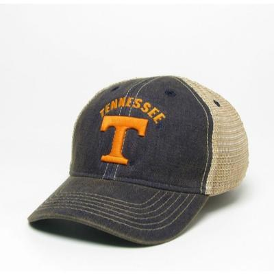 Tennessee Legacy Toddler Arch w Power T Adjustable Trucker Hat