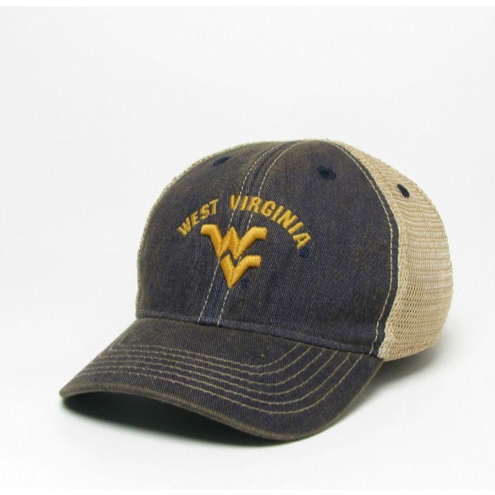 West Virginia Legacy Toddler Arch W Logo Adjustable Trucker Hat