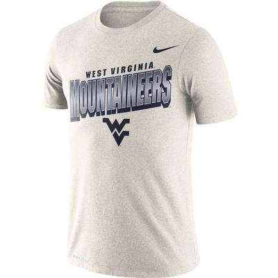 West Virginia Nike Dri-FIT Cotton Local Tee