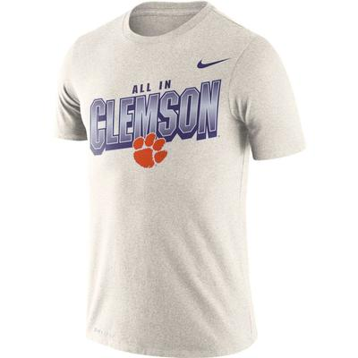 Clemson Nike Dri-FIT Cotton Local Tee