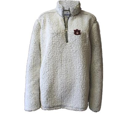 Auburn Summit Women's 1/4 Zip Solid Sherpa