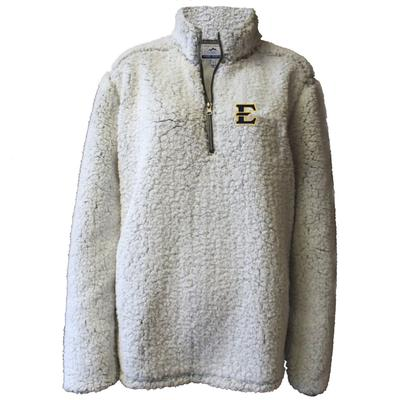 ETSU Summit Women's 1/4 Zip Solid Sherpa