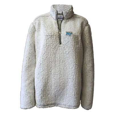 MTSU Summit Women's 1/4 Zip Solid Sherpa