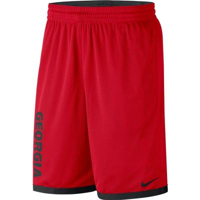 Georgia Nike Classic Dry Basketball Shorts