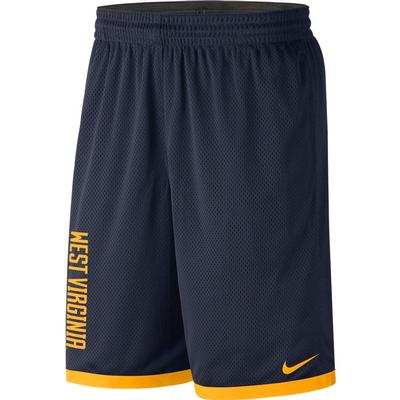 West Virginia Nike Classic Dry Basketball Shorts