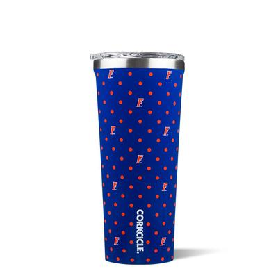 Florida Corkcicle 24oz Polka Dot Tumbler