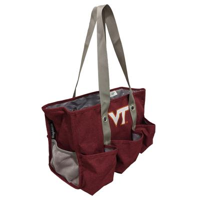 Virginia Tech Logo Brands Junior Caddy Tote