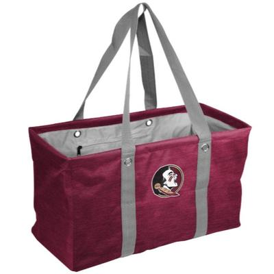 FSU Logo Brands Picnic Caddy Tote