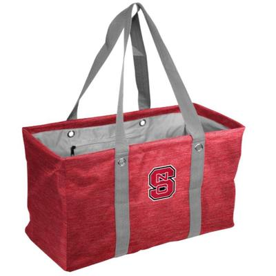 NC State Logo Brands Picnic Caddy Tote