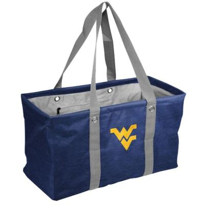 West Virginia Logo Brands Picnic Caddy Tote