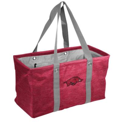 Arkansas Logo Brands Picnic Caddy Tote