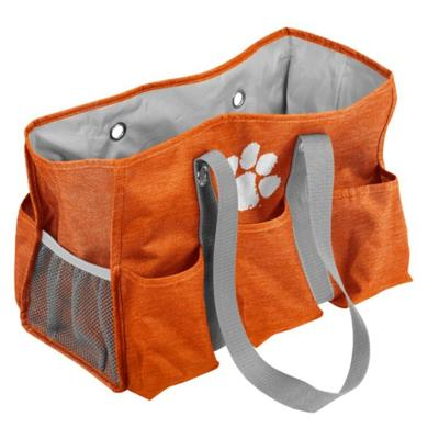 Clemson Logo Brands Junior Caddy Tote