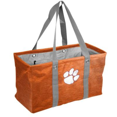 Clemson Logo Brands Picnic Caddy Tote