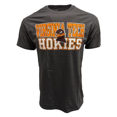 Virginia Tech Stacked Logo T-Shirt GRAPHITE