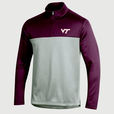 Virginia Tech Champion Field Day Poly 1/4 Zip