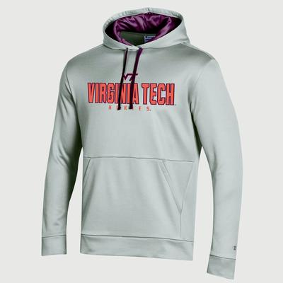 Virginia Tech Champion Field Day Heather Poly Fleece Pullover
