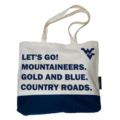 West Virginia Logo Brands Favorite Things Tote
