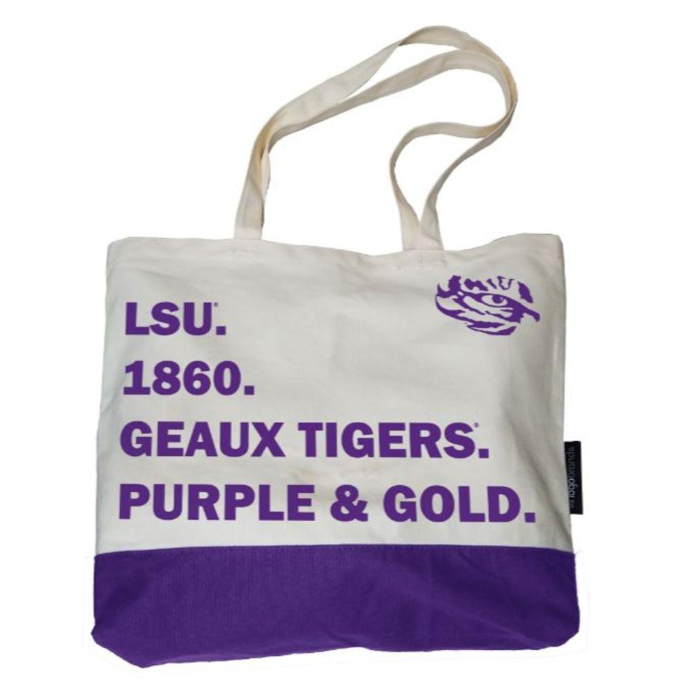 Lsu Logo Brands Favorite Things Tote