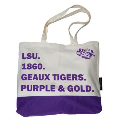 LSU Logo Brands Favorite Things Tote
