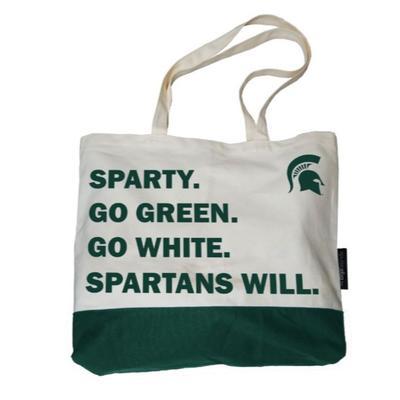 Michigan State Logo Brands Favorite Things Tote