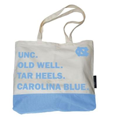 UNC Logo Brands Favorite Things Tote